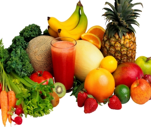 Illustration de fruits utiles contre le RGO